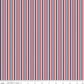 "1/8"" Stripe - Patriotic"