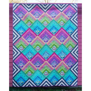 Electric Slide Quilt Pattern