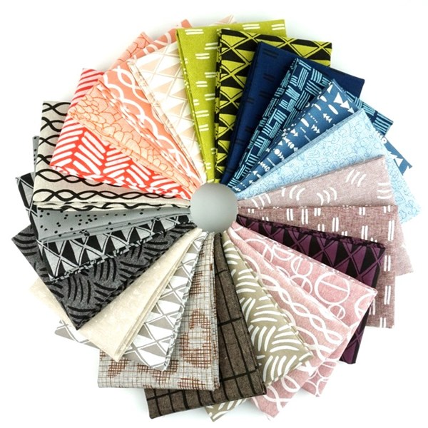 Essex Prints Rainbow Fat Quarter Bundle
