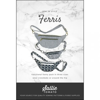 Ferris Fanny Pack Pattern by Sallie Tomato