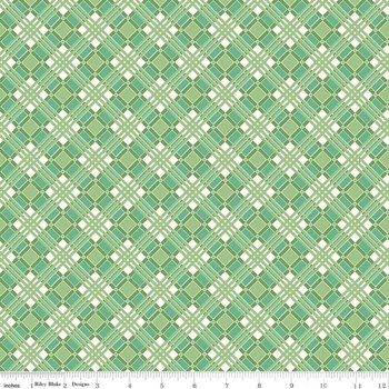 Flea Market Plaid - Green