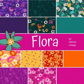 Flora Fat Quarter Bundle