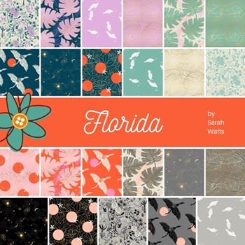 Florida Fat Quarter Bundle | Sarah Watts | 23 SKUs