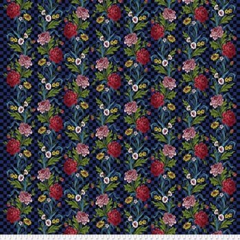 Broderie Boheme Flowers in my Kitchen - Onyx