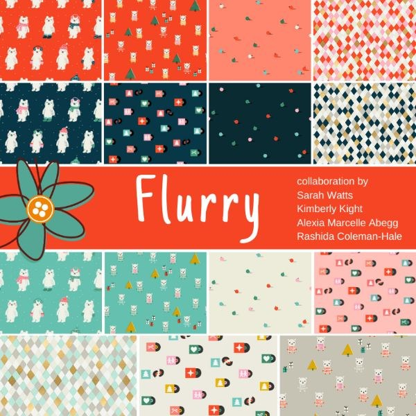 Flurry Half Yard Bundle