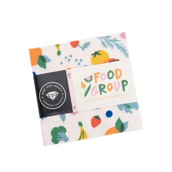 Food Group Charm Pack | Ruby Star Society | 42 PCs