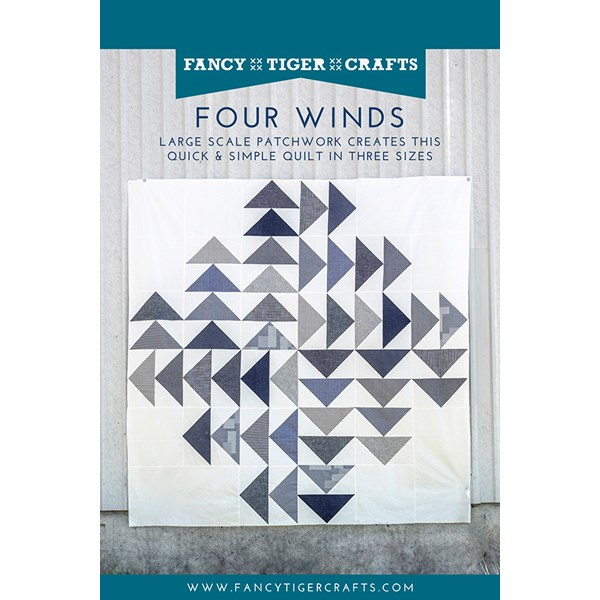 Four Winds Quilt Pattern by Fancy Tiger Crafts