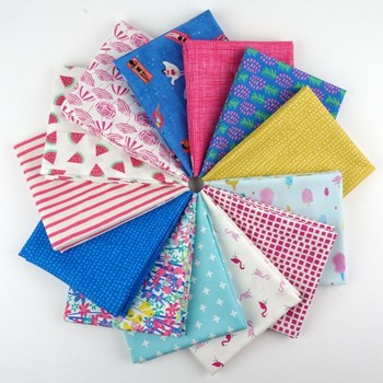 Girls Just Wanna Have Sun Fat Quarter Bundle