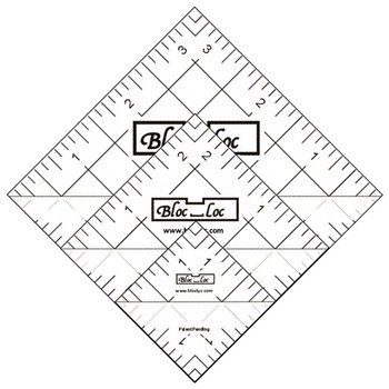 Half Square Triangle Ruler Set by Bloc Loc - Set 4