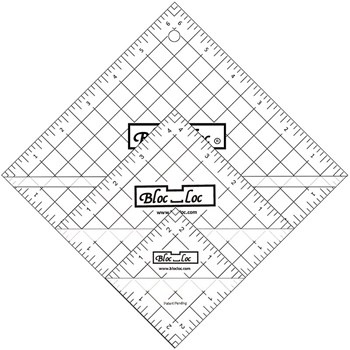 Half Square Triangle Ruler Set by Bloc Loc - Set 2
