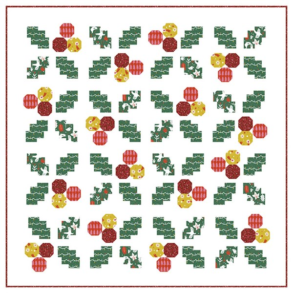 Holly Jolly Quilt Kit -Wintertide
