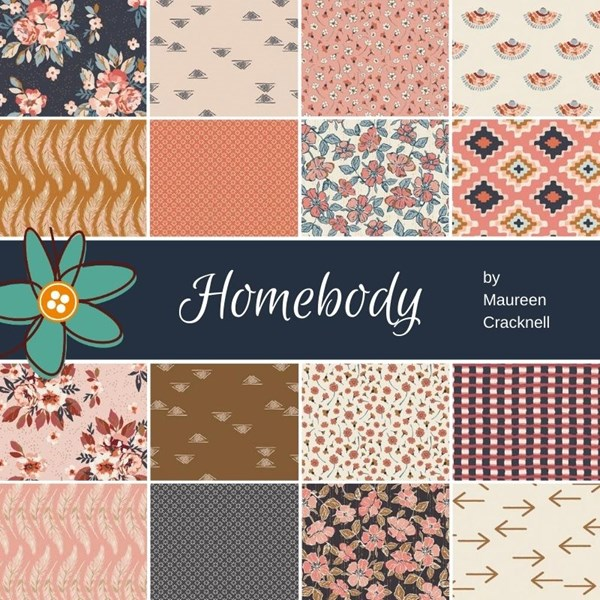 Homebody Half Yard Bundle | Maureen Cracknell | 16 Half Yards