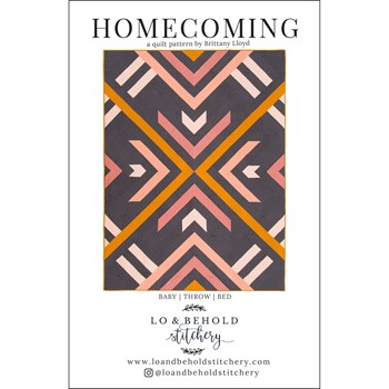 Homecoming Quilt Pattern by Lo and Behold Stitchery