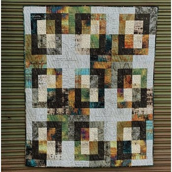 Hyde Park Quilt Top | Abandoned | Tim Holtz | Digitally Printed