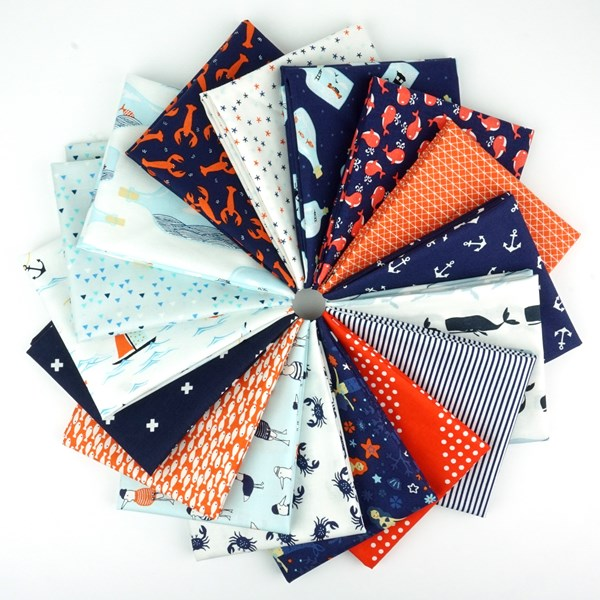 I Don't Give a Ship! Fat Quarter Bundle