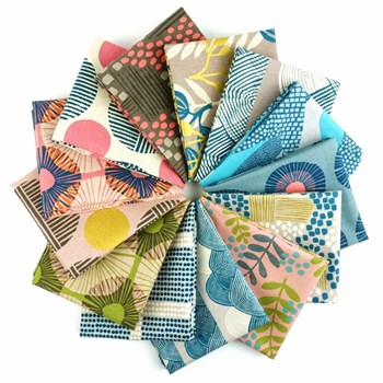 Imagined Landscapes Fat Quarter Bundle by Jen Hewett