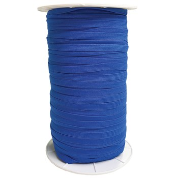 Knit Elastic By the Yard - 1/4'' Electric Blue