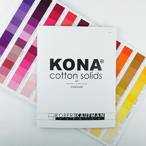 Kona Cotton Color Card - 340 Colors