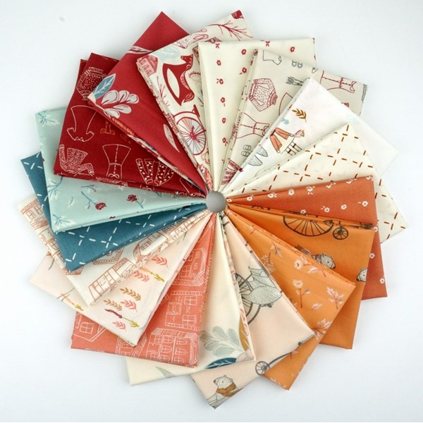 Little Clementine Fat Quarter Bundle
