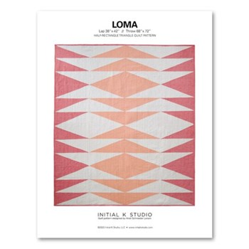 Loma Quilt Pattern by Initial K Studio