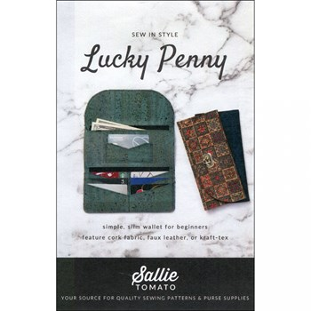 Lucky Penny Wallet Pattern by Sallie Tomato