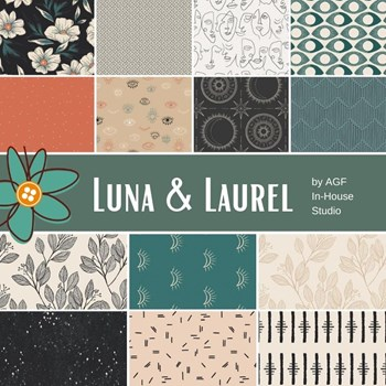 Luna & Laurel Fat Quarter Bundle | AGF In-House Studio | 14 FQs