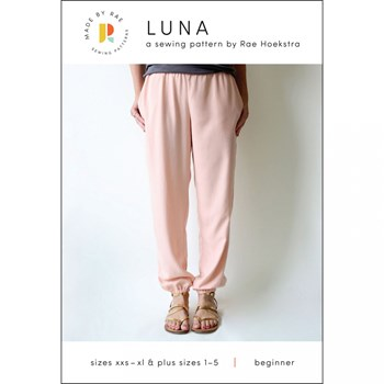 Luna Pants Pattern by Made by Rae