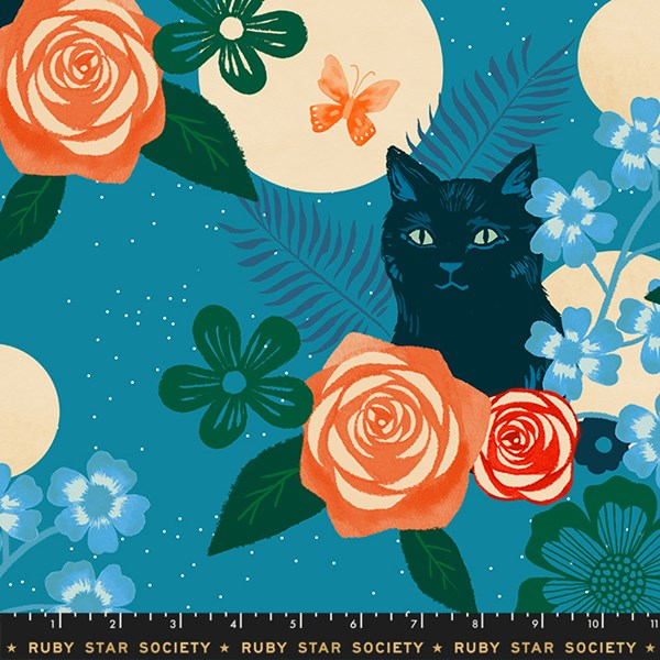 Magic Cat Rayon - Teal