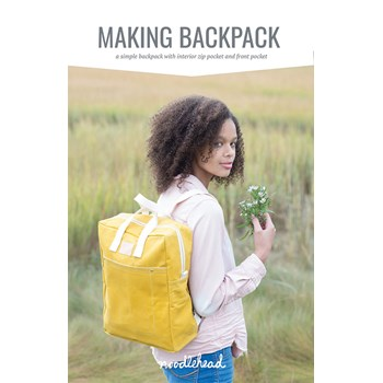 Making Backpack Pattern by Noodlehead