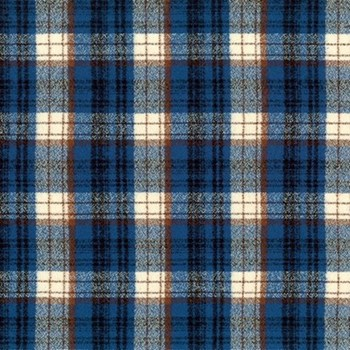 Mammoth Flannel - Blue - SRKF-18958-4