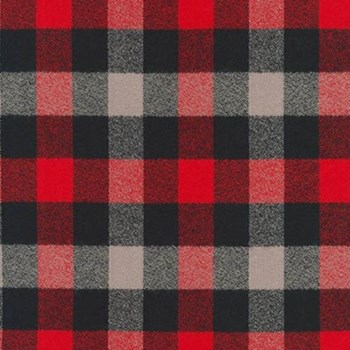 Mammoth Flannel - Red, Black, Grey - SRKF-16422-3