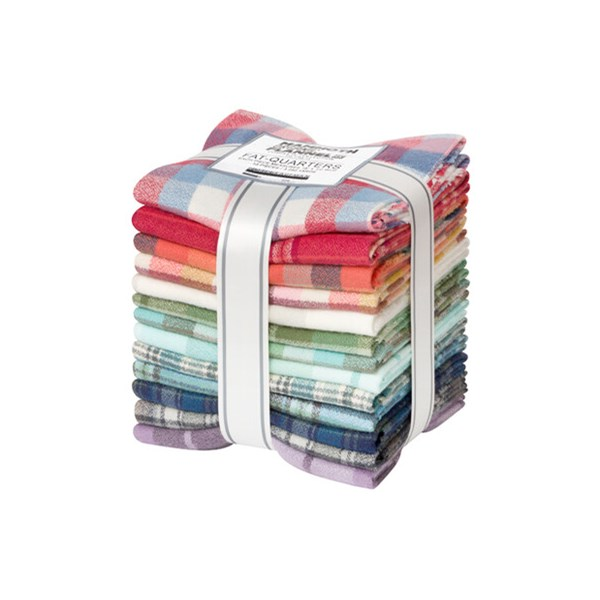 Mammoth Organic Flannel Fat Quarter Bundle | 13 FQs