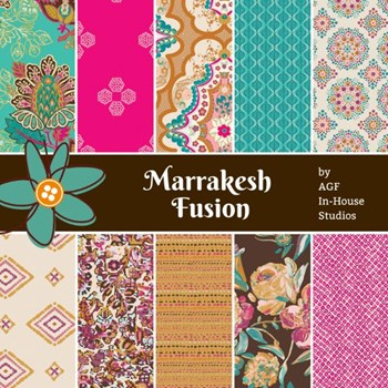 Marrakesh Fusion Fat Quarter Bundle