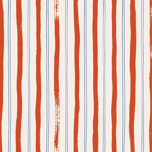 Meadow Stripe - Red