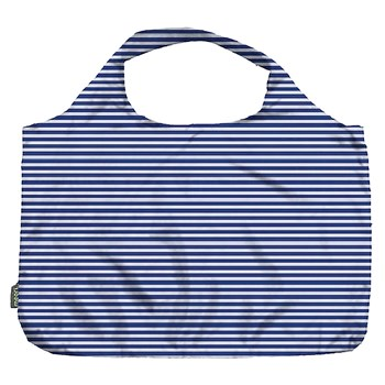 Meori Pocket Shopper - Blue Pinstripe