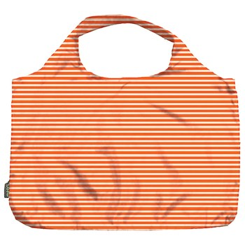 Meori Pocket Shopper - Orange Pinstripe