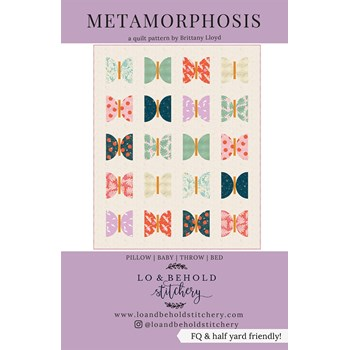 Metamorphosis Quilt Pattern