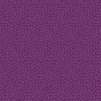 Midsommar Ditsy Flower Dots - Dark Purple
