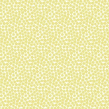 Midsommar Ditsy Flower Dots - Pale Yellow