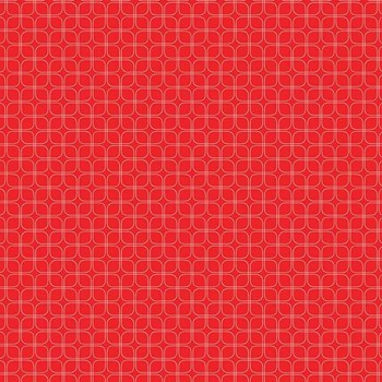 Midsommar Geometric Tiles - Red