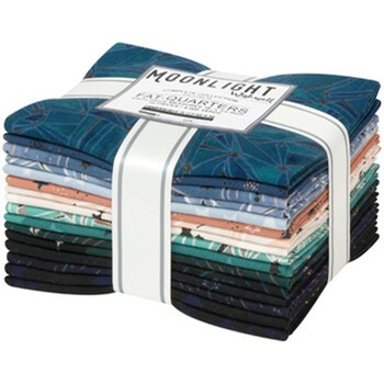 Moonlight Fat Quarter Bundle | Wishwell | 16 FQs