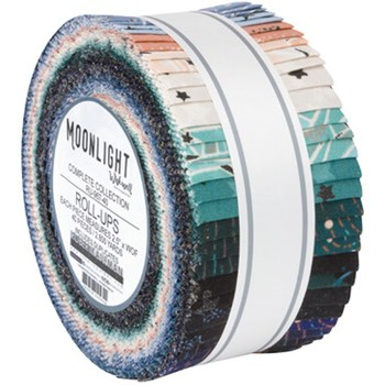 "Moonlight Roll Up | Wishwell | 42 - 2.5"" Strips"
