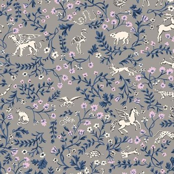 Mythical Animals in Taupe