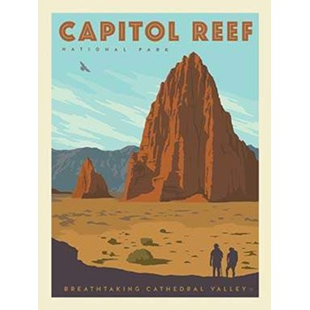 National Parks Poster Panel - Capitol Reef
