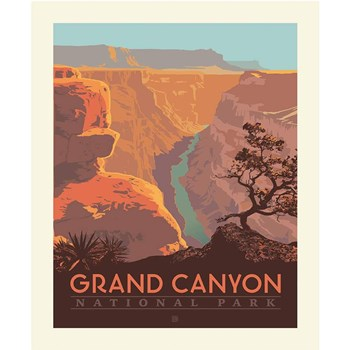 National Parks Poster Panel - Grand Canyon
