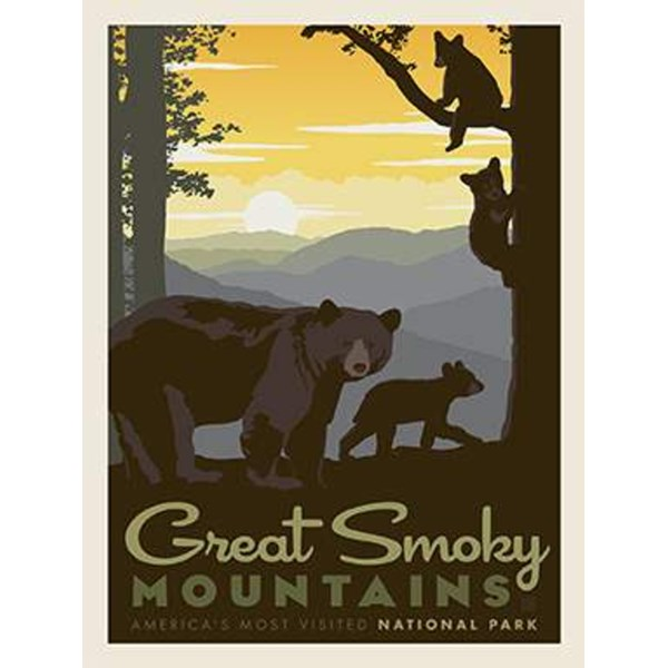 National Parks Poster Panel - Great Smoky