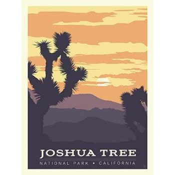 National Parks Poster Panel - Joshua Tree