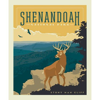 National Parks Poster Panel - Shenandoah