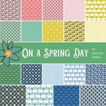 On a Spring Day Charm Pack | Loes van Oosten