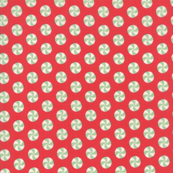 Peppermint Polka Dot - Red